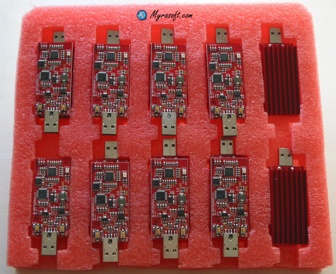 The Red Fury USB Bitcoin miner is scarce in the market. Order today before they are all gone!
